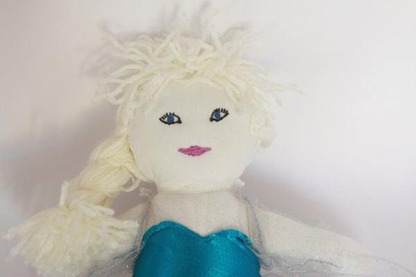 Frozen Elsa Rag Doll (1)