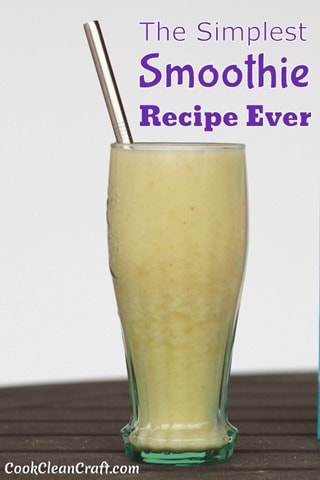 Simple Smoothie Recipe (2)