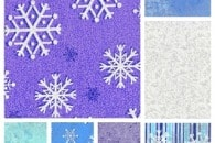 Fave Fabric Friday: Winter Frost