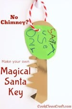 Make your own Magical Santa Key
