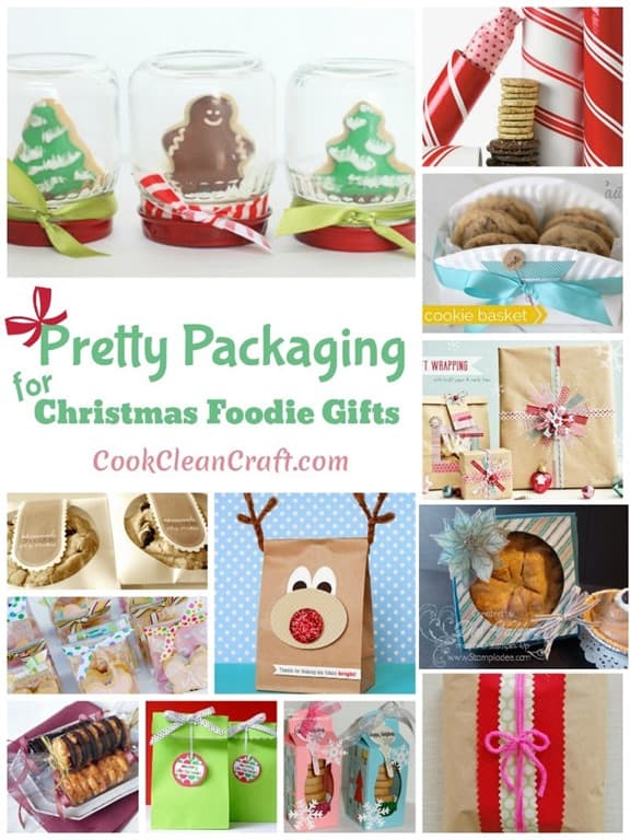 Pretty Packaging for Christmas Foodie Gifts1
