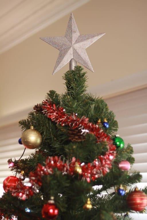 Christmas Tree Star Amazing White Christmas Tree Star With  - Christmas Tree Star