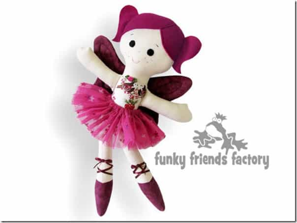 Knitting Pattern Ballerina Doll : 22 Gorgeous Dolls to knit, sew or crochet Cook Clean Craft
