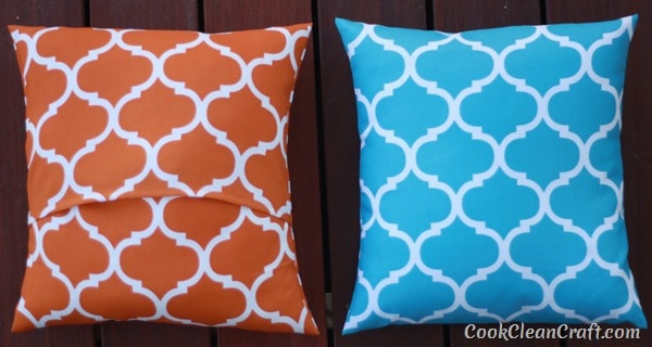 How to sew Quick and Easy Cushion Covers (10)