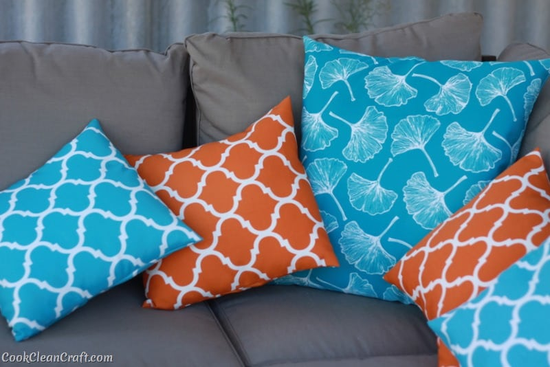 how to sew quick and easy cushion covers 13
