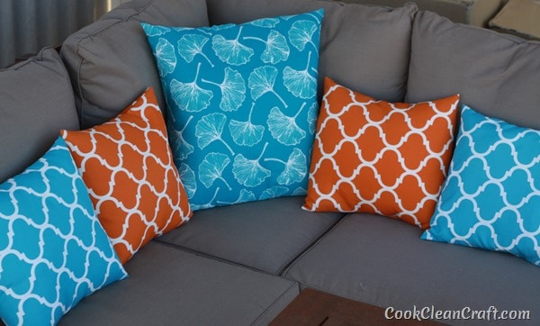 How to sew Quick and Easy Cushion Covers (1)
