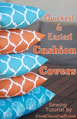 How to sew Quick and Easy Cushion Covers (9)