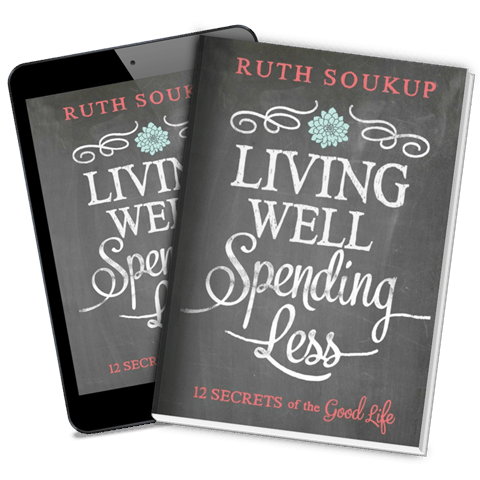 Sometimes reading a book can change your attitude and motivation. If you're looking to revamp your life, this book (Living Well Spending Less) is filled with more than just life hacks to get the best out of life!