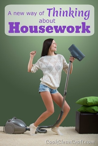 It's time for a life hack on my attitude to homemaking and organization. Here's my new way of thinking about housework! Will this trick change your motivation for homemaking?