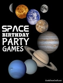 Space Birthday Party Games