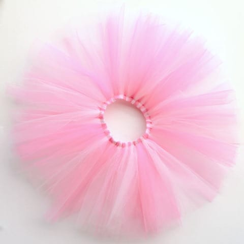 How to quickly sew a tulle tutu