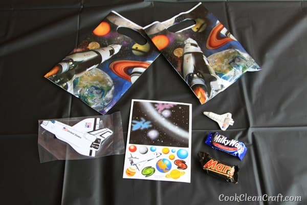 Space Party Loot Bags