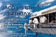 Space-Themed Birthday Party Overview