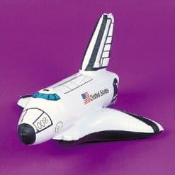 Space party inflatable space shuttle toy