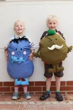How to sew a Mr Men Costume