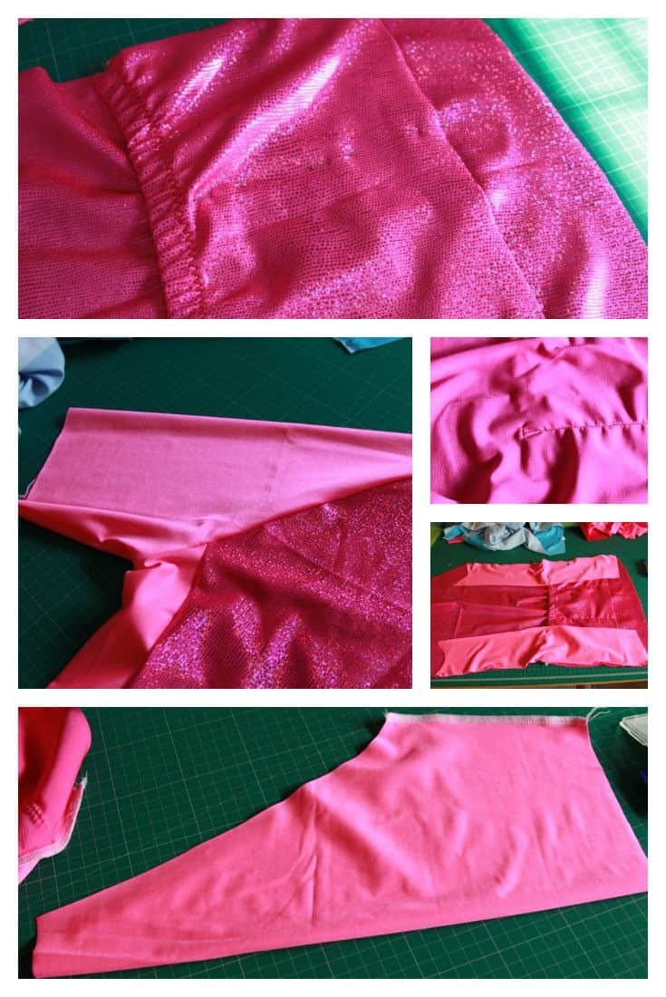 Sewing a cycling jersey 2