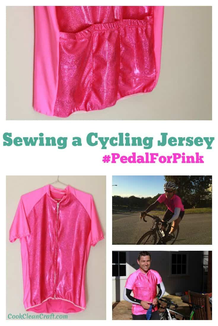 Sewing a cycling jersey