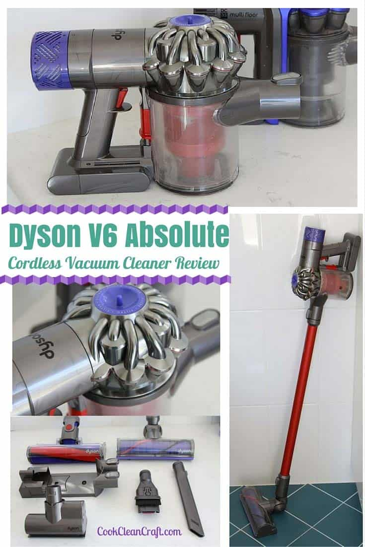 Dyson v6 Absolute cordless vacuum cleaner review 1