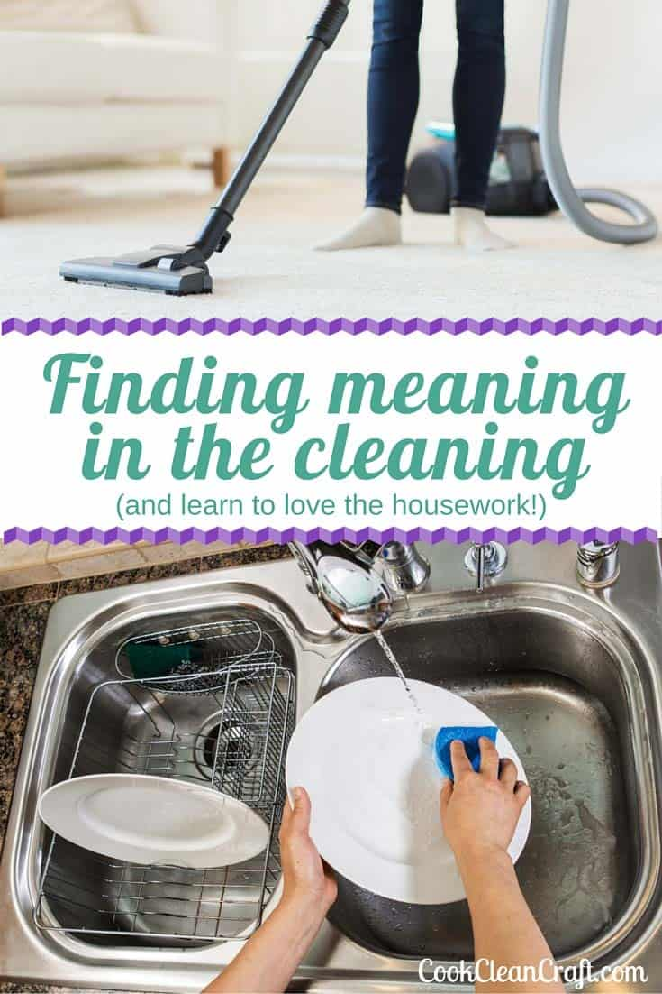 Housework can feel like a relentless, never-ending battle. Here's how I found meaning in the cleaning, making me happy to do the housework.