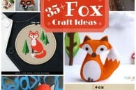 35+ Fox Craft Ideas