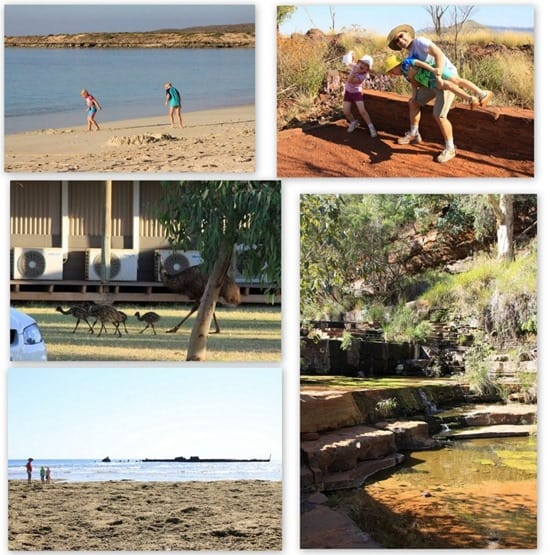 Holiday photos from Karijini National Park and Exmouth