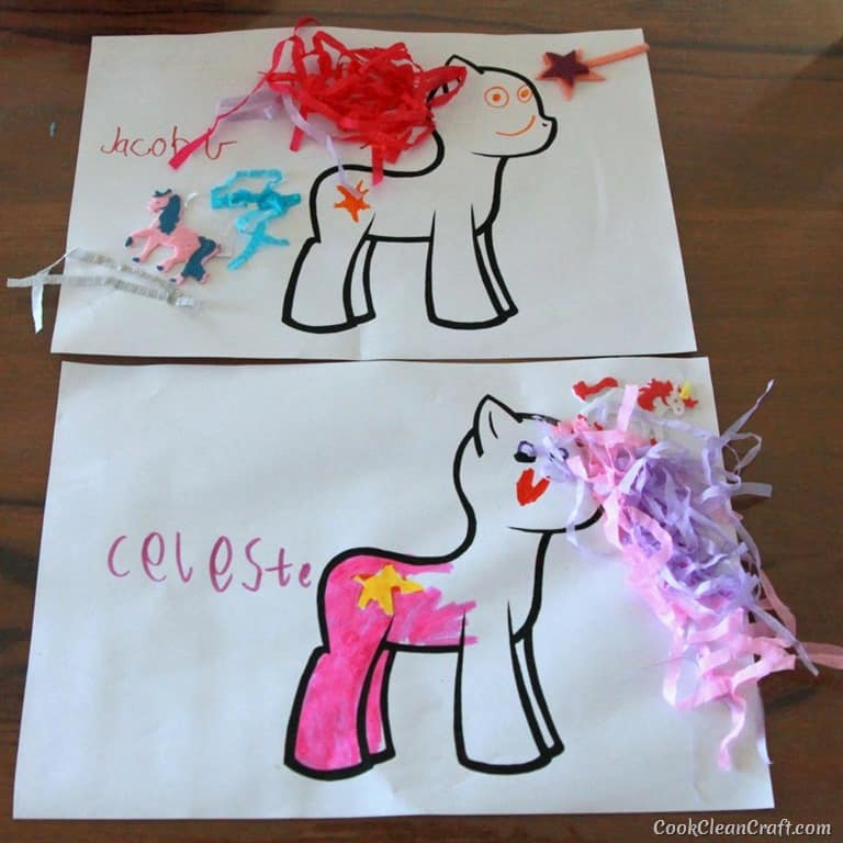 my little pony crafts ideas how to host the my pony cook clean 6943