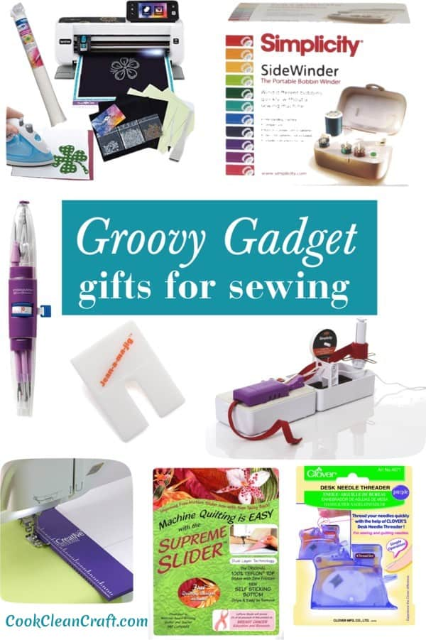Sewing gadgets make sewing quicker, more efficient and more accurate. These are great gift ideas for someone who loves to sew.