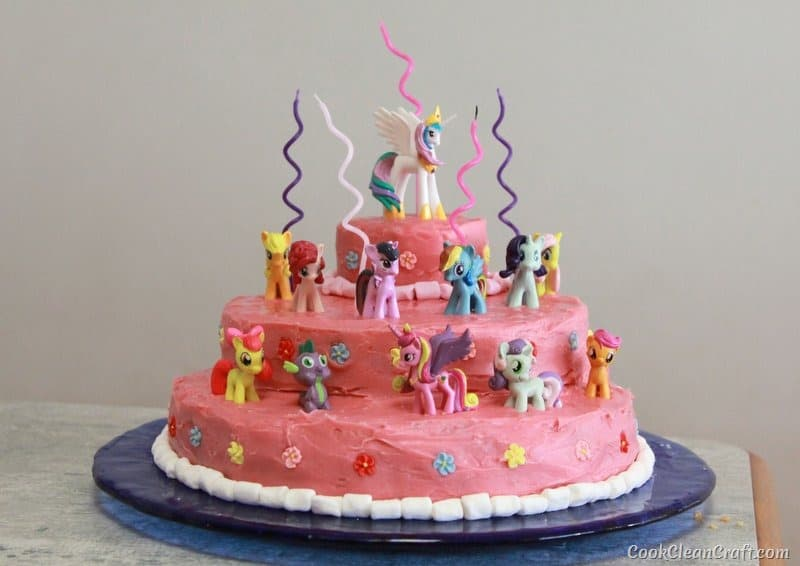 Small Images Of Birthday Cake : How to host the perfect My Little Pony Party Cook Clean ...