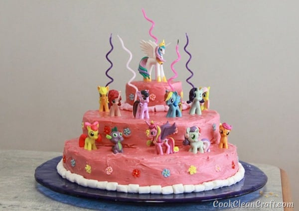 My Little Pony Birthday Cake (1)