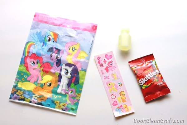 My Little Pony Party Loot Bag