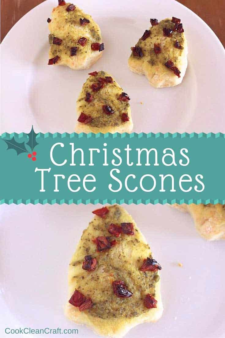 If you're looking for a cute, savoury treat to take to a Chirstmas party, these Christmas tree scones are perfect. Such an easy recipe, using pesto sauce, but so much fun!