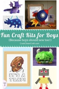 Fun Craft Kits for boys