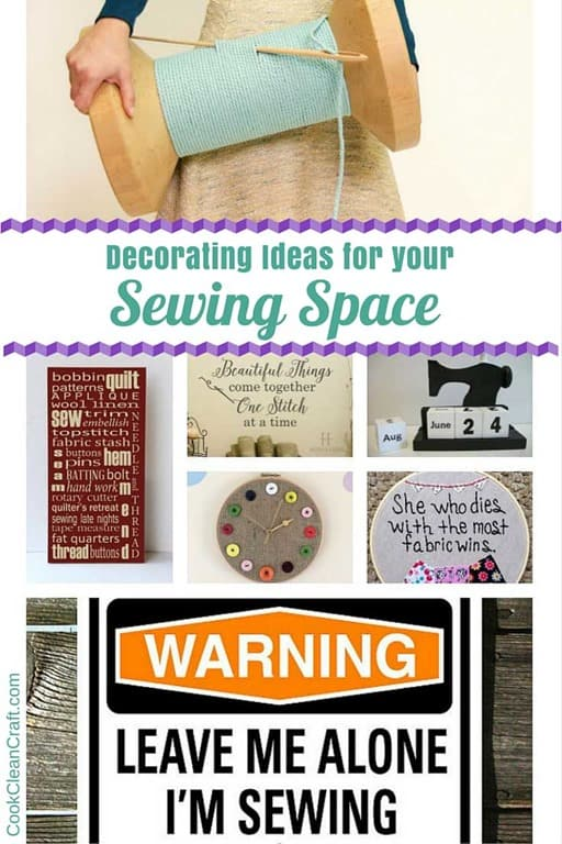 Sewing Room Decorating Ideas Cook Clean Craft
